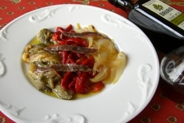 冷製野菜の炭火焼・エスカリバダ