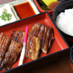 竹蒲焼定食(一人前 三切れ)