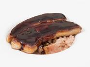 伝統との融合『熊野地鶏の茶粥風リゾット フォアグラ添え』