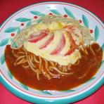 チーズトマト    (あんかけパスタ)