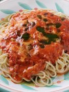 チーズとソースが絶妙な相性『モッツアレラのトマトソース』
