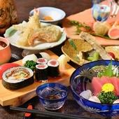 南知多の海の幸が、老舗寿司店の大将の腕により至福の一皿へ。