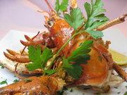 オマール海老を1尾使ったスパイス焼きです