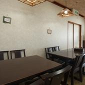 多彩な座席と豊富なメニューで、老若男女、利用しやすいお店です