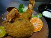 牡蠣フライ、しゃぶしゃぶ、昆布蒸し、牡蠣チーズ焼き、牡蠣マヨネーズ焼き、素焼き等