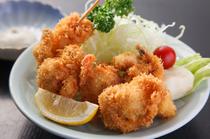 タルタルソースで食べる、『大アサリフライ』