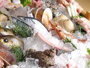 旬の新鮮な魚介類や串物を毎日仕入れてていねいに並べています。