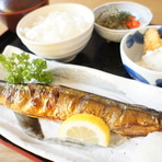 ・焼き魚定食
