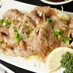 ・豚カルビ香草焼き定食