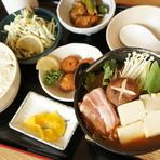 味噌鍋定食 (冬季)