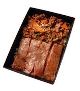 先付前菜3種近江松喜屋牛極上ヒレすき焼き肉150g野菜盛合せご飯又は、うどんシャーベット