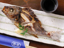 焼き魚でちょっと一杯、お食事以外でもお楽しみ頂けます