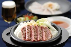 廣岡揮八郎が選び抜いた国産黒毛和牛ヘレ(フィレ)ステーキフルコースをお楽しみください