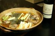 口取り、すっぽん鍋、すっぽん雑炊、香物、甘味