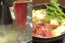 和牛すき焼き、しゃぶしゃぶ食べ放題
