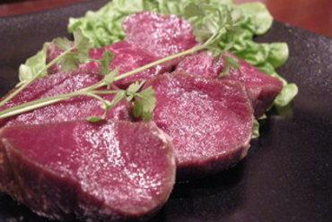 エゾ鹿あみ焼きステーキ