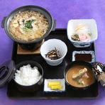 うなぎ柳川鍋定食