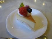 ふわっとしたスフレタイプのチーズケーキ☆