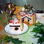 Xマスケーキ 苺のシャルロット