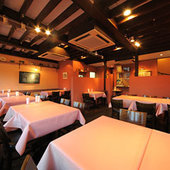 本格イタリアンお料理コースは2500円~女子会貸切パーティもOK!
