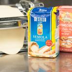 パスタ&ピザにデュラムセモリナ粉を使用