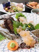 「伊勢海老」「蟹」「アワビ」が一度に愉しめる贅沢なプランです。