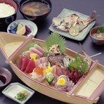 上刺身定食 ¥2900