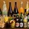 クラフトビールやワイン、焼酎など選ぶのが楽しくなる豊富なドリンク