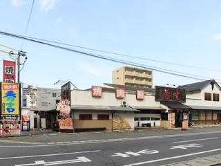 駅から県道173号線左折し、野田茶屋交差点を左折してすぐ左手