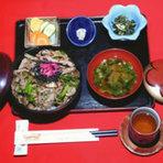 天城丼(猪肉焼)1,680円