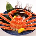 【季節限定】 かに料理(11月解禁日より3月まで)