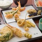 天ぷら一筋、30年、親子2代で受け継ぐ天ぷらの味