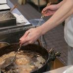 白絞油を使った食べやすい天ぷら