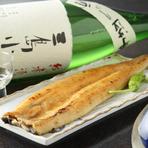 静岡地産の海の幸がたっぷり。 地酒を片手にお愉しみ下さい