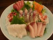 今日、一番おいしい新鮮な海の幸をお召し上がりいただけます。