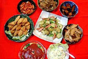 大皿盛家庭料理 日替り8種類
