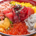 駿河湾の幸を味わえる『わいわい丼』