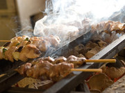 東京ではめったに食べられない!鯖の表面を香ばしく焼いています。たっぷりの薬味と合わせてどうぞ。
