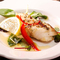 白身魚の香草焼き