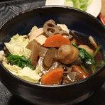 野菜いっぱい!! ほっと温まる椀物です。