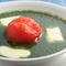 野菜の美味しさ満点『焼きトマトとチーズのホウレンソウカリー』