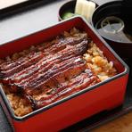 うなぎとご飯、全体の味と食感のバランスが絶妙!