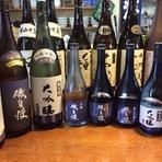 日本酒と焼酎の豊富さには自信があります!