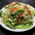グリーンサラダ(青じそ風味)