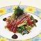 マグロとキムチのサラダ