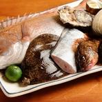 地元産や全国各地の季節の素材を真心こめて調理