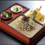 「天ぷら耶馬ザルそば」定食メニューも抜かりない味