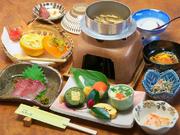 当店オリジナルの創作料理で日田を満足していただけるメニューとなっており、手作りデザートまで9品
