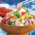 登録商標 「王様丼」キングオブ丼!