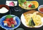 ほか、「穴子丼」「穴子天丼」「寿司そばセット」「色彩御膳」「ミックスフライセット」など